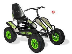 Dino X-Quad (Black-Green)